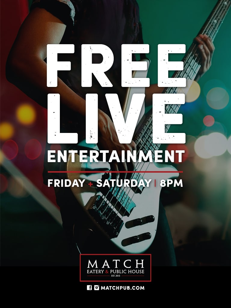 Free Live Entertainment at Match