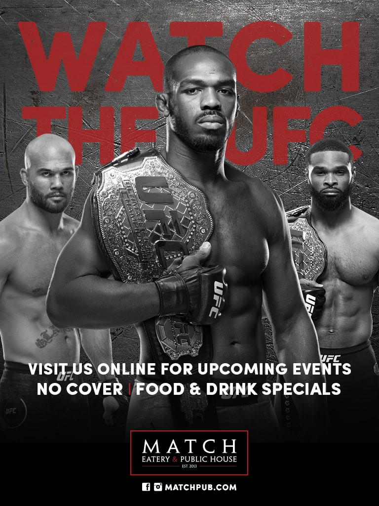 Watch the UFC at Match
